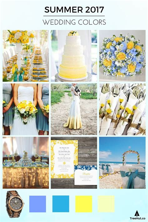 2017 color schemes walk down the aisle in 2017 s popular wedding colors