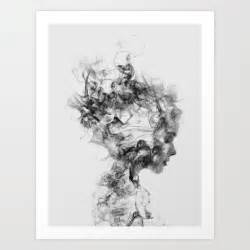 Black white art prints society6