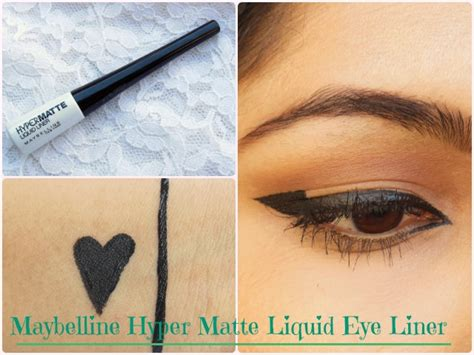 Maybelline Hyper Matte is it matte enough maybelline hypermatte liquid eye liner