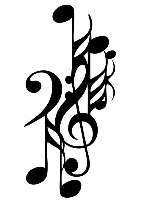 free design music music note designs clipart best
