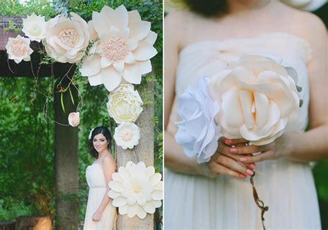 Make Paper Flowers Wedding - paper flower wedding inspiration 100 layer cake