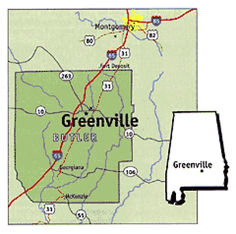 where is greenville alabama on the map greenville al pictures posters news and on your