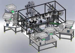 Machine Designer automation development inc custom turnkey automated