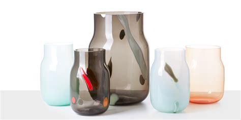 vasi vetro design dechem vasi di vetro opalino la casa in ordine