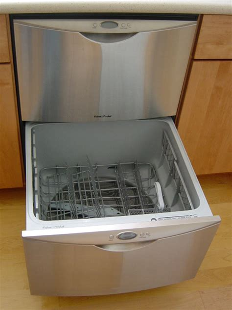 Pull Out Drawer Dishwasher by Drawer Dishwasher