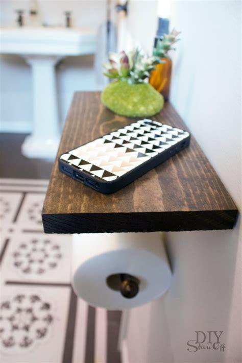 toilet paper holder shelf  bathroom accessoriesdiy show