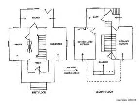 psycho house floor plans catholic rectory floor plan google search floor plans