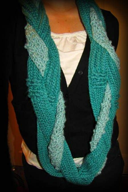 pinterest pattern for infinity scarf hooked holla infinity scarf pattern by hookers don t bite