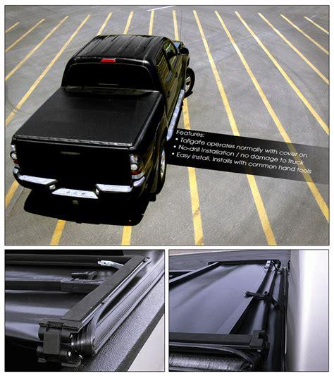 tri fold truck bed cover tri fold soft tonneau cover 2007 2014 chevy silverado