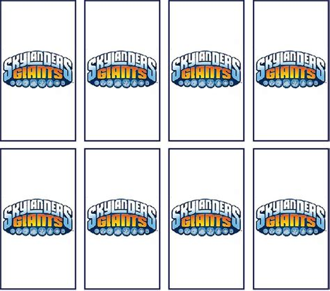mini bar wrapper template 301 best images about skylanders printables on
