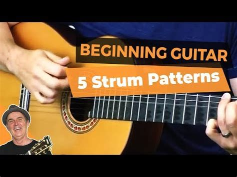 strumming pattern youtube strum pattern for beginners 5 best guitar strumming