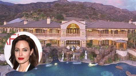 angelina jolie new home 5 homes fit for a newly single angelina jolie and her kids