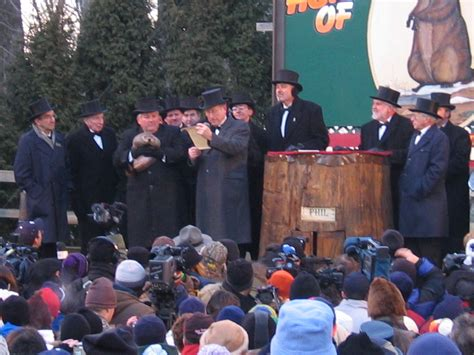 groundhog day live wegolook attends 2015 groundhog day festivities in