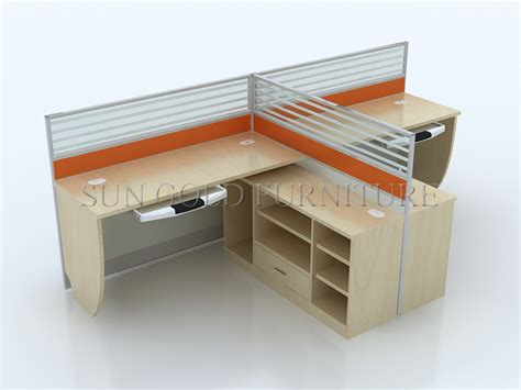 Office Desk Partitions Office Furniture Modular Workstation Fabric Panel Structure Office Partition System Sz Ws160
