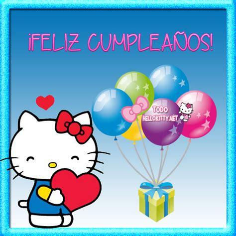 imagenes de cumpleaños de kitty im 225 genes de feliz cumplea 241 os con hello kitty todo hello
