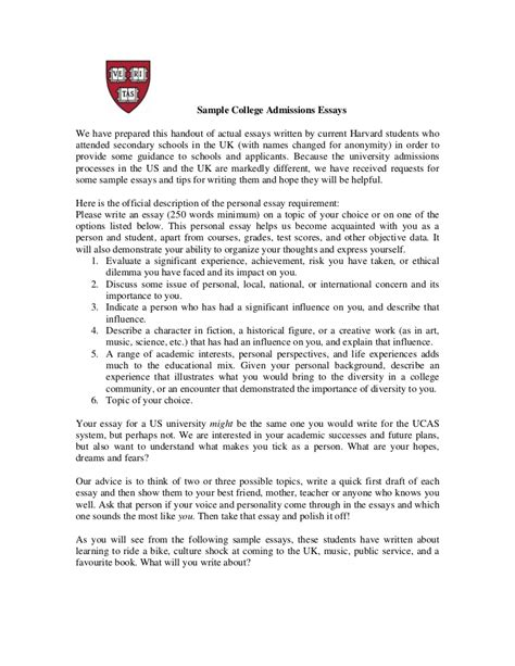 Winning College Essays by Winning College Essays Exles 10 Recommendation Letter Sle Written By A High School