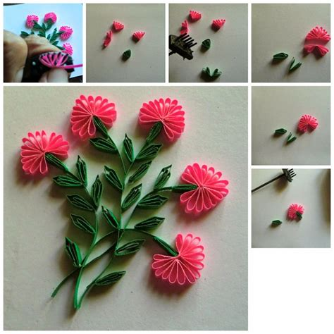 how to make paper flowers for cards 1000 images about quilling plants and flowers nature