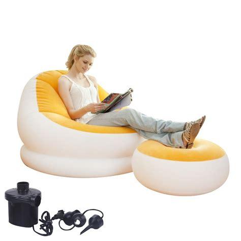 inflatable recliner ec ec original beanbag chair inflatable sofa lazy siesta