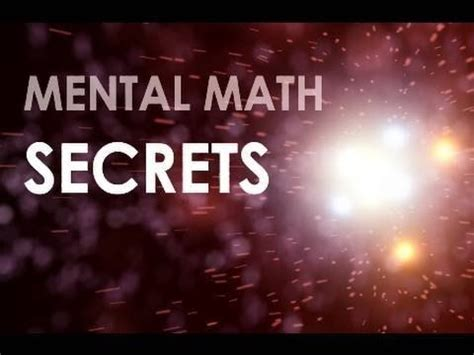 mental mathematics a fast arithmetics operation at the top of your initiated by trachtenberg books mental math secrets multiply 2 digit numbers rapidly