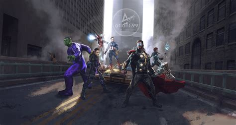 avengers game fan art hd superheroes wallpapers