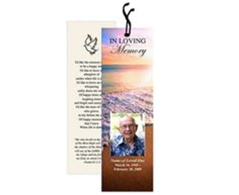 free memorial bookmark template 1000 images about memorial bookmarks printable templates