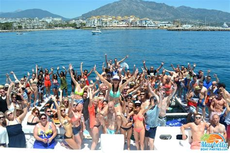 party boat uk unique refreshing boat parties picture of marbella