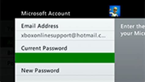 manage your microsoft account faq xbox one support my account