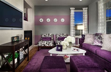 Purple And Gray Living Room Ideas by 15 Catchy Living Room Designs With Purple Accent Home