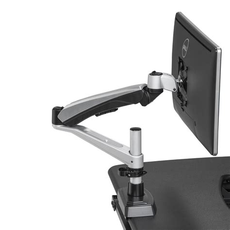 dual monitor arms for desk single monitor arm varidesk 174
