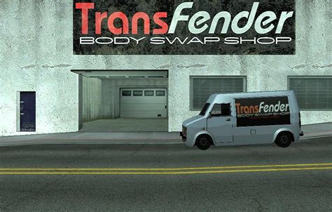 Gta Sa Car Garage Mod by Transfender Gtasa Exterior