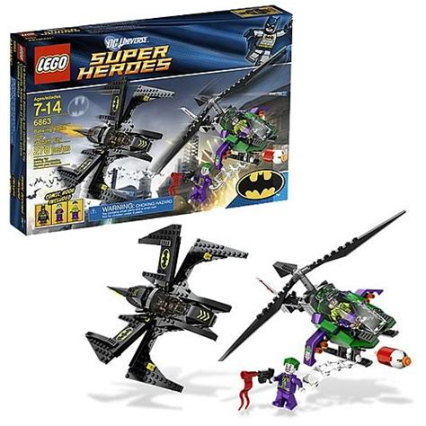 lego dc universe 6863 batwing battle gotham city
