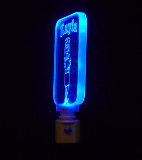 Nurse Night Light Personalized With Name Colored Led Led Lights Lights