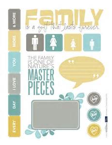 Free Scrapbook Templates To Print by This Page Of Family Printables For Your Scrapbook