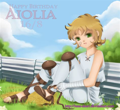 Tv Akari 43 happy b day aiolia by akari on deviantart
