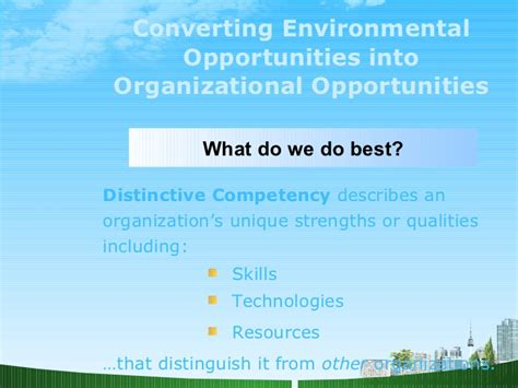 Work For Environmental Groups With An Mba by Foundations Of Strategic Marketing Management Ppt Mba
