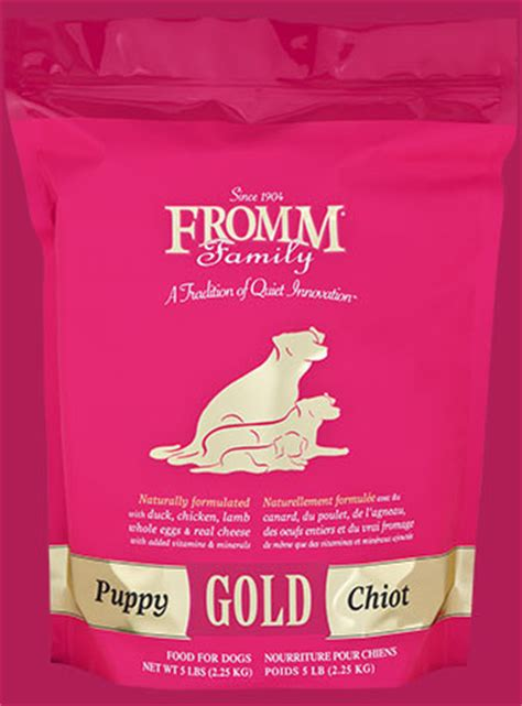 fromm food puppy puppy gold food fromm family foods