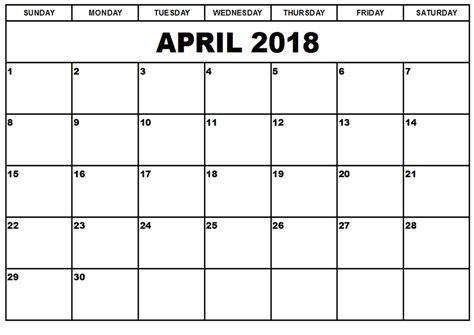 april  printable calendar   blank templates