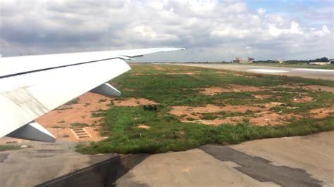 emirates ghana approach to kotoka international airport accra ghana