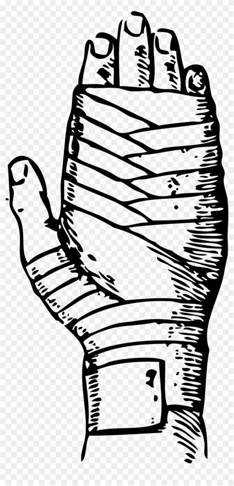 Figure Eight Bandage - Finger Of Eight Bandage, HD Png