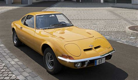 Opel 1900 Gt 1968 Opel Gt 1900 Sport Car Technical Specifications And