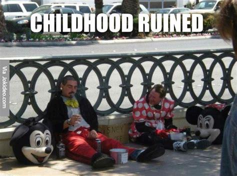 Ruined Childhood Meme - childhood ruined meme jokes memes pictures