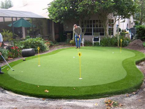 putting green  top  septic drain field