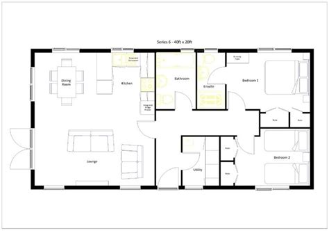 barns with apartments floor plans 20 x 40 800 square feet floor plan google search