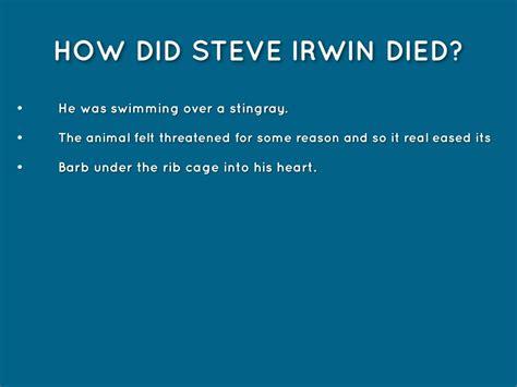 how did die steve irwin by guo
