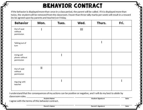 behavior plan template for elementary students best 25 behavior contract ideas on individual