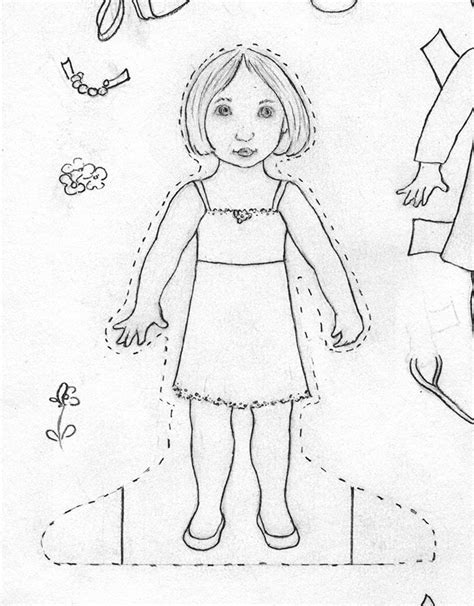 How To Make A Paper Doll - how to make paper dolls at home