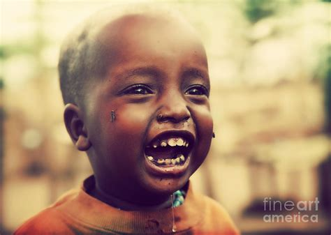 Home Decor Blogs In Tanzania a laughing tanzanian child photograph by michal bednarek
