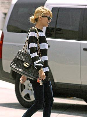 Ayesha Jumbo by Fashion The Classic Black Chanel Chain Bag