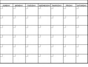 6 week printable calendar 187 calendar template 2017