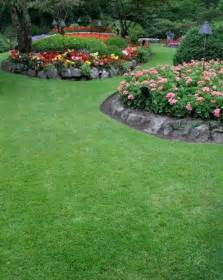 It gives you a great idea how to create raised flower beds in a